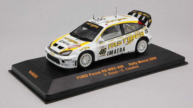 Ford RS WRC  46 Focus Valentino Rossi Monza Rally 2006 1 43 Model RAM255