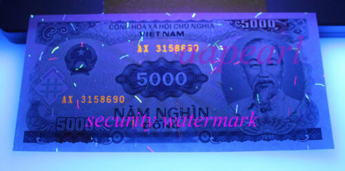 6pcs different Vietnam Banknotes Collections brand new paper money Uncirculated