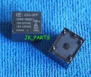 5PCS New Original SRD-S-112DM 12V Power Relays 4-Pin Replace JQC-3FF-012-1HS