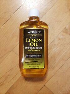 Weiman Natural Lemon Oil Furniture