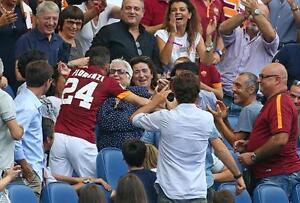 Poster Alessandro Florenzi 24 Totti As Roma Wolf Soccer Football Photo #10