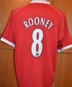 91ebb85d9 Image is loading MANCHESTER-UNITED-FC-2006-HOME-SHIRT-ADULT-XXL-