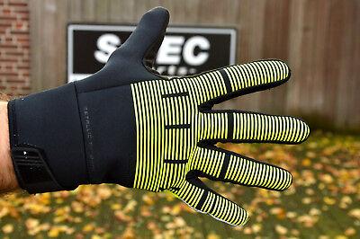 Shimano viento break thermal reflective Man windstopper bicicleta guantes Neon/%/%/%