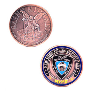 America-Police-New-York-Commemorative-Coin-Collection-Challenge-Art-Craft-Co-FM