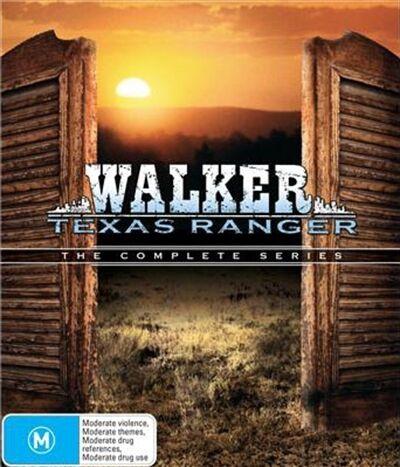 Walker Texas Ranger The Complete Series : Season 1 - 8 : NEW DVD