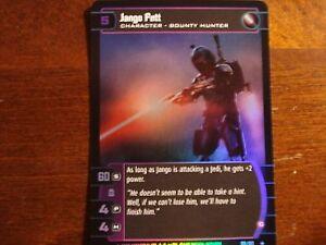 A Star Wars TCG AOTC Jango Fett