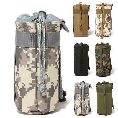 Tactical Molle Nylon Web Buckle Key Water Bottle Holder Carabiner Clip X7H4 I3F5