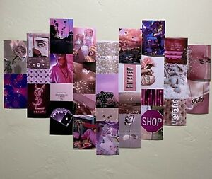 30 Pink Boujee Aesthetic Wall Collage Kit Ebay
