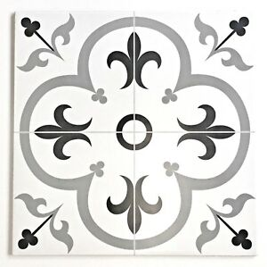 Details About Valencia 16 Inch X Floor Wall Ceramic Patterned Decorative Tile Kitchen