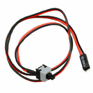 ATX PC Computer Motherboard Power Cable Switch On//Off//Reset
