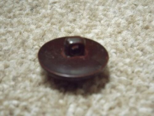 19.5mm 22.5mm 30mm brillante marrón oscuro estilo de fútbol de Plástico Botones Caña Espalda