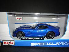 Maisto Dodge Viper SRT GTS 2013 Blue 1/24