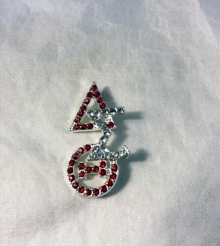 Delta Sigma Theta Sorority Stacked Pin-New!