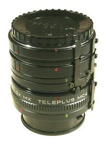 Prl) Tubo Estensione 2x Mx Teleplus Mc4 Extension Tube Minolta Tubi Prolunga Ct61cv3n-10104603-867672253