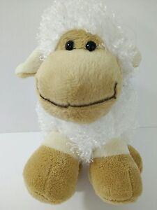 Best-Made-Toys-Lamb-Sheep-Plush-Stuffed-Animal-Baby-Toy-White-Tan-Chubby-Smile