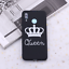 thumbnail 5 - King and Queen Crown case cover for Xiaomi Mi Redmi Note 5 6 7 8 9 lite Pro Plus