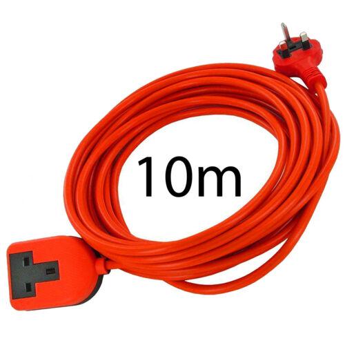 20M Mains Power Cable Plug Extension for BOSCH ROTAK 370 40 43 430 Ergoflex