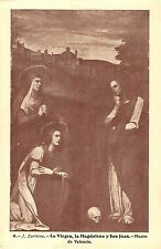 BR70855 j zarinena la virgen la magdalena   painting postcard valencia spain