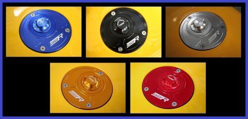 Suzuki GSR750 GSX1250FA Quick Release Keyless Billet Gas Fuel Petrol Cap Lid