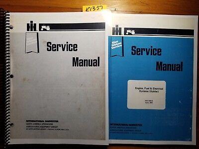 IH CUB CADET 86 108 109 128 129 149 169 Service Manual