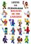 MINIFIGURES-CUSTOM-LEGO-MINIFIGURE-AVENGERS-MARVEL-SUPER-EROI-BATMAN-X-MEN miniatuur 172