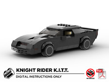Lego MOC | Knight Rider KITT | Pontiac Firebird | PDF Instructions (NO BRICKS)