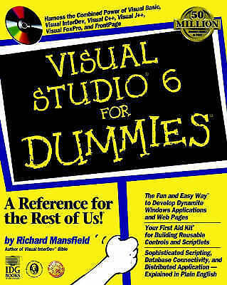 Mansfield, Richard : Visual Studio 6 For Dummies Expertly Refurbished Product