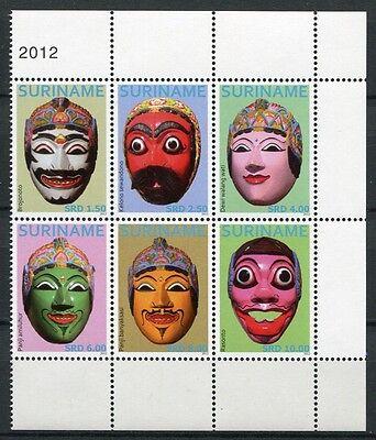 Surinam 2012 Asiatische Masken Masks Folklore Brauchtum 2614-2619 Postfrisch MNH