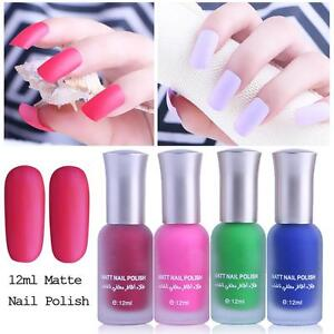 12ML Satin Frosted Long Lasting Fragrance Frosted Matte Bottle Nail ...