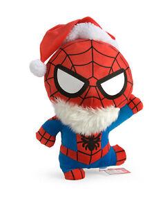 Marvel-Kawaii-Art-Collection-Santa-Spider-Man-18-034-Plush-Toy
