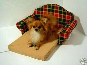 Chihuahua / Yorkshire-terrier chien lit câline canapé rouge / vert SZ.L-dépliable