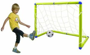 Enfants 1.2 M X 0.8 m. Junior but de foot soccer Set avec Ballon et pompe NL-10I 							 							</span>