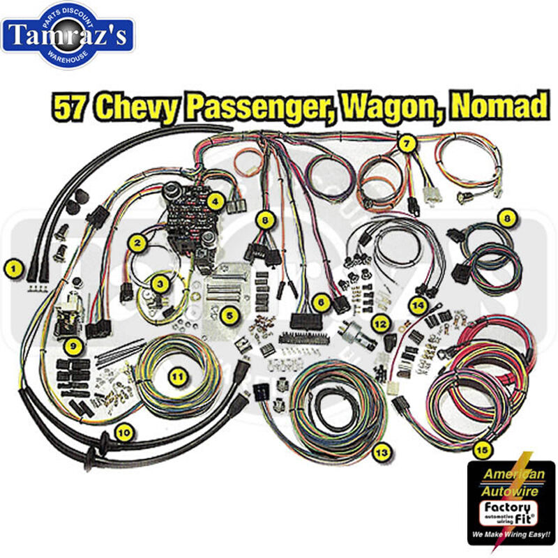 1957 Chevrolet Wagon Rear Wiring Harness from i.ebayimg.com