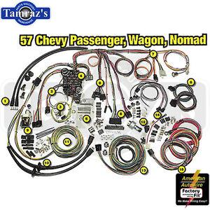1957 chevy classic update series complete body interior wiring rh ebay com 57 Chevy Under Dash Wiring 56 Chevy Truck Wiring Harness