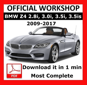 SERVICE AND REPAIR OFFICIAL WORKSHOP MANUAL FOR BMW 5 SERIES F07 2009-2017