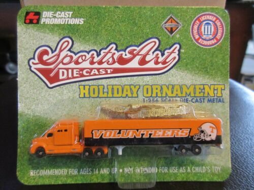 1:256 Z Scale Tennessee Volunteers Tractor Trailer Truck Ornament DCP