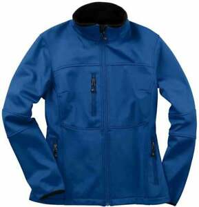 River-039-s-End-Soft-Shell-Jacket-Womens-Athletic-Jacket-Lightweight-Blue