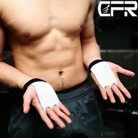 Grips Crossfit Gymnastics Hand Grip Guard Palm Protectors Glove Durable White Dd