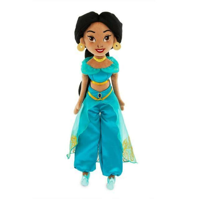 Jasmine Plush Soft Doll 18 H 45 72cm Aladdin Princess Disney 2019