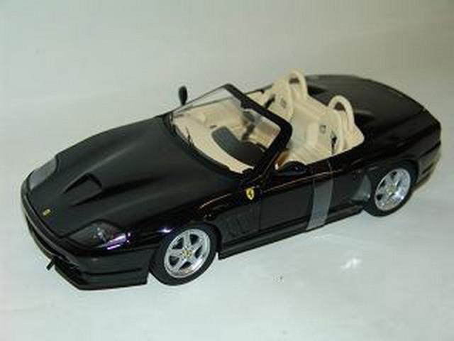 Mattel Hot Wheels N2055 Ferrari Ferrari Ferrari 550 Barchetta Pininfarina Voiture Modèle Noir 1:18th   Réputation D'abord  d49681