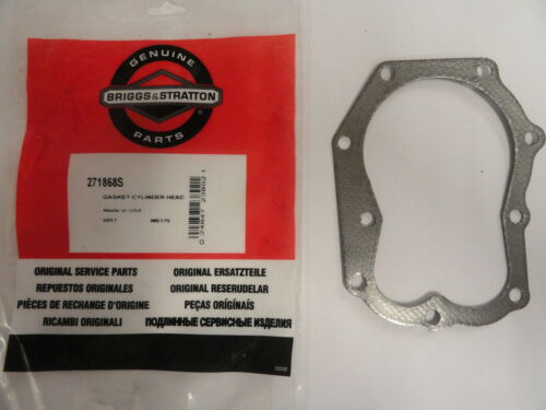 Genuine Briggs et Stratton Cylindre Joint de culasse 271868 Original Briggs 271867 S