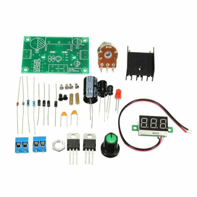 Buck Step Down LM317 Adjustable Voltage Regulator DIY Kit Power Supply Module