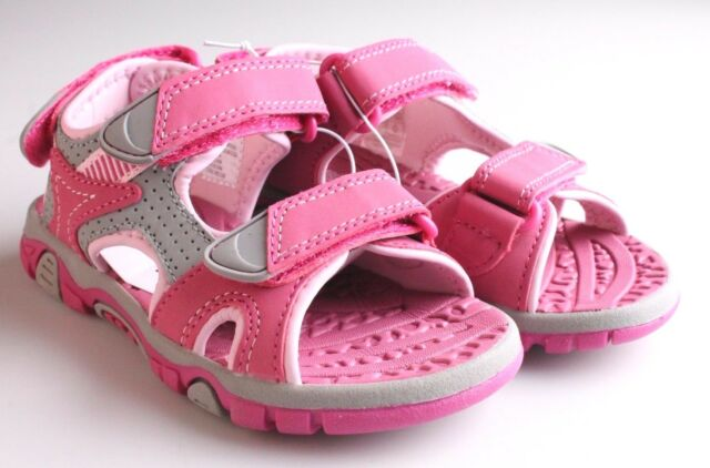 1df9f099365 Khombu Kids Girls Pink River Sandal w Adjustable Straps and Comfort Insole  NWT