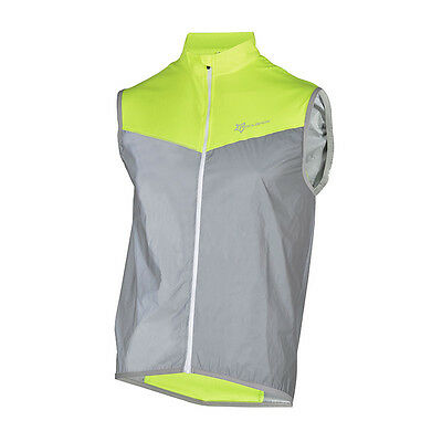 RockBros Cycling Reflective Safe Vest Bicycle Wind Vest Breathable Sleeveless