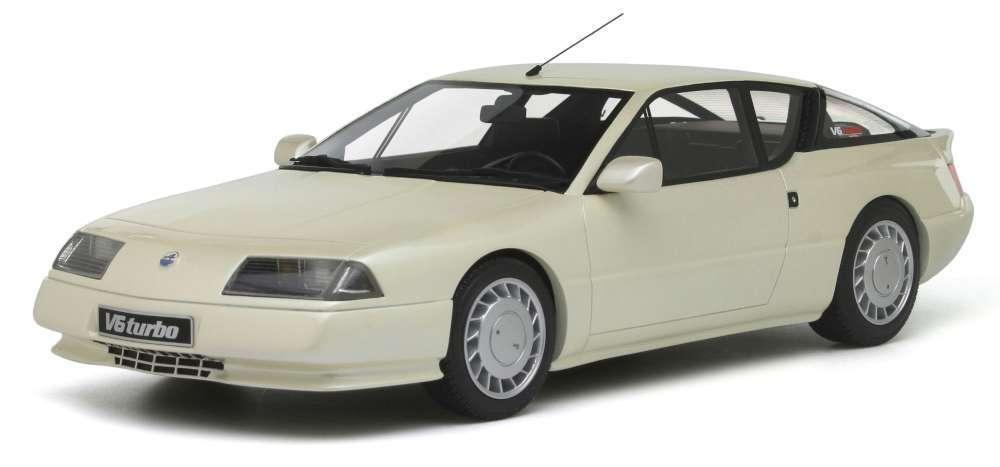 OTTO MOBILE 662 Alpine GTA V6 Turbo in resina modello auto BIANCO LTD ED 999 solo 1 18