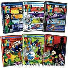 Teen Titans: The Complete Series Seasons 1 2 3 4 5 + Movie Box / DVD Set(s) NEW!