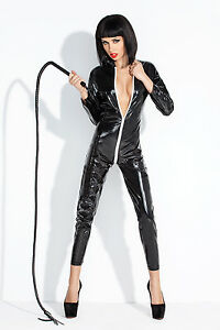 domina catsuit bad catwomen vinyl ala lack latex leder fetisch wetlook s m l xl ebay. Black Bedroom Furniture Sets. Home Design Ideas