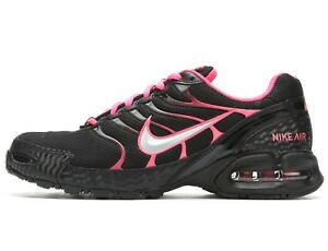 Nike Air Max Torch 4 Womens Running Training Shoes Size 6 Pink Black Silver