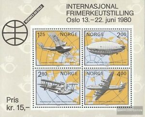 Norwegen-Block2-kompl-Ausg-gestempelt-1979-NORWEX-1980