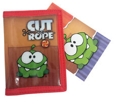 Cut The Rope Children's Wallet Om Nom Red